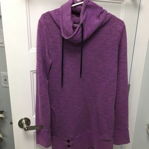 Long Lavender Turtle Neck Sweater!